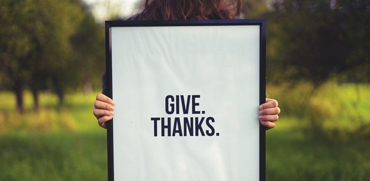 Acknowledge and Thank Everyone for Being There