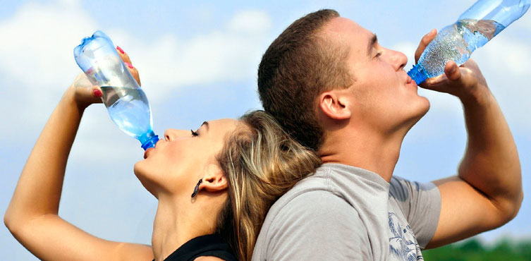 Water -Keep on Sipping Regularly