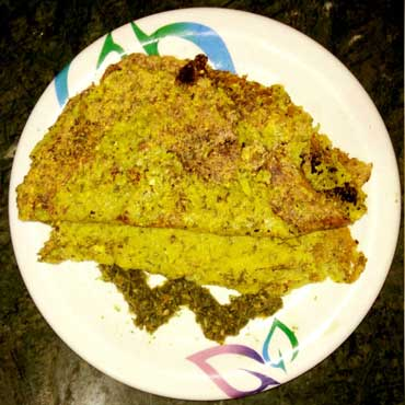 Sprouted Moong Daal Cheela