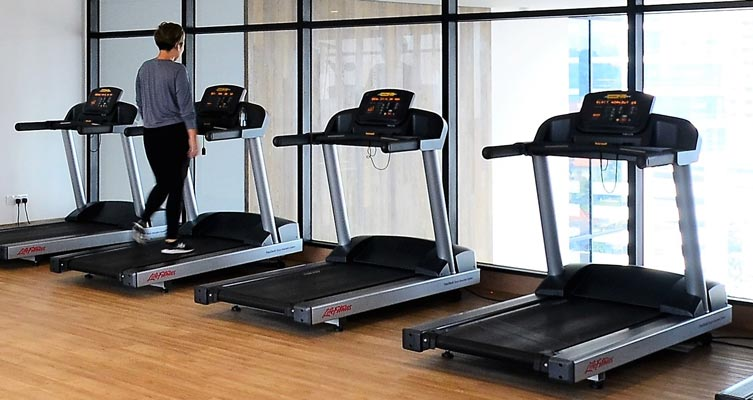 Treadmill Workout - One of the most common aerobic exercise